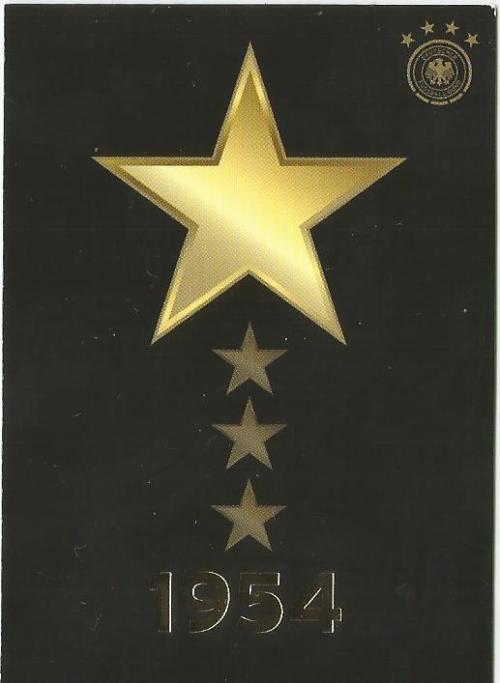 Der erste Stern 1954 - DFB card 2015-16 1