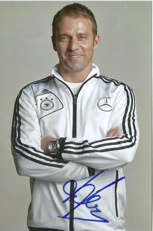 Hansi Flick signed photo