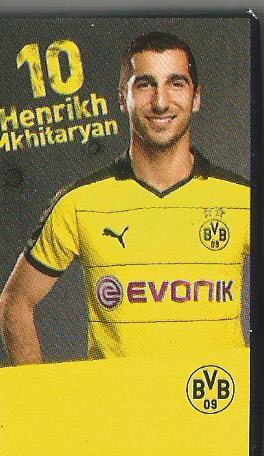 Henrikh Mhkitaryan - Dortmund advent calendar