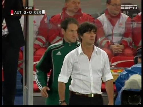 Joachim Löw – Austria v Germany  10