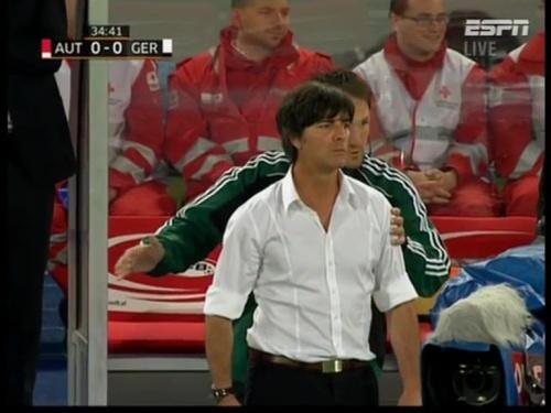 Joachim Löw – Austria v Germany  11
