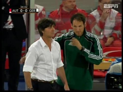 Joachim Löw – Austria v Germany  12