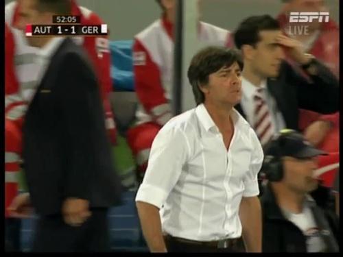 Joachim Löw – Austria v Germany  22