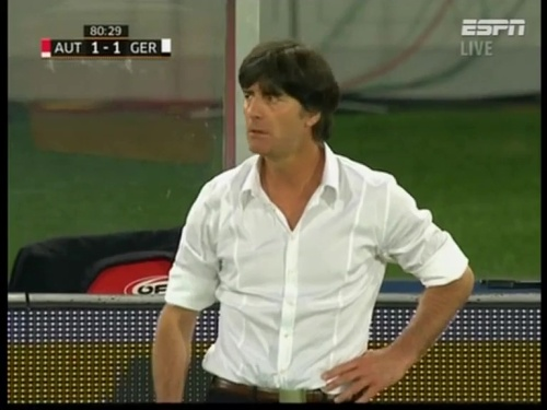 Joachim Löw – Austria v Germany  24