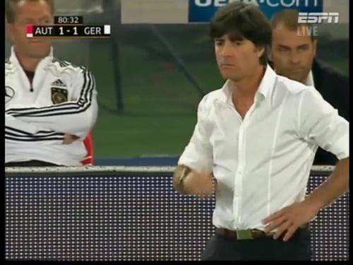 Joachim Löw – Austria v Germany  25