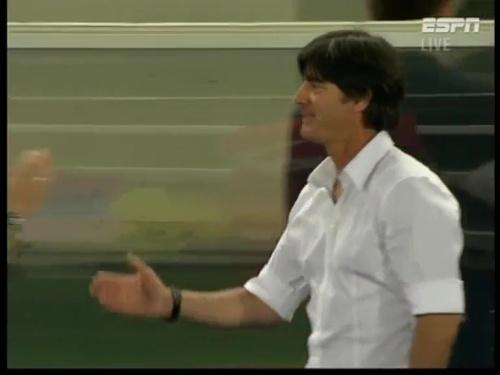 Joachim Löw – Austria v Germany 38