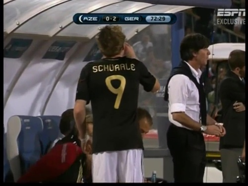Joachim Löw – Azerbaijan v Germany (2011) 10