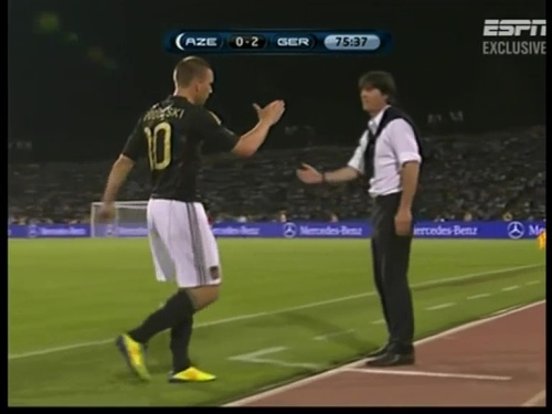 Joachim Löw – Azerbaijan v Germany (2011) 14