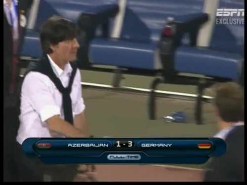 Joachim Löw – Azerbaijan v Germany (2011) 23