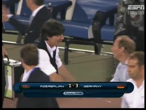 Joachim Löw – Azerbaijan v Germany (2011) 24