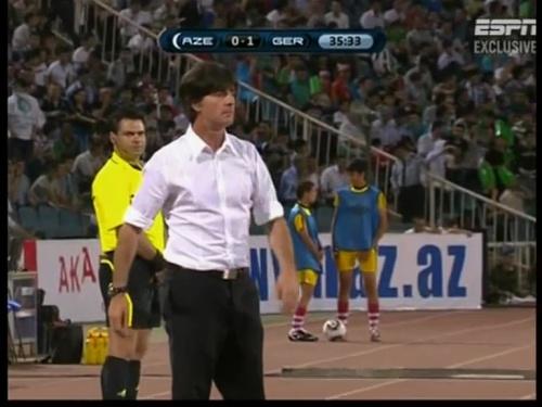 Joachim Löw – Azerbaijan v Germany (2011) 4