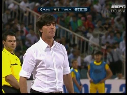 Joachim Löw – Azerbaijan v Germany (2011) 5