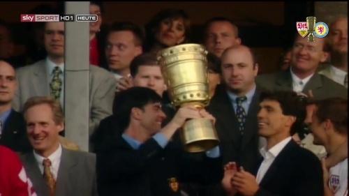 Joachim Löw – DFB Pokal Final 1996-97 2