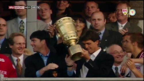 Joachim Löw – DFB Pokal Final 1996-97 3