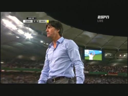 Joachim Löw – Germany v Brazil 25