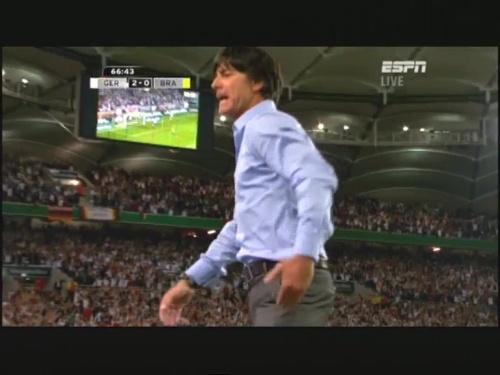 Joachim Löw – Germany v Brazil 26