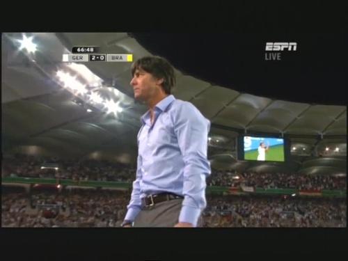 Joachim Löw – Germany v Brazil 30