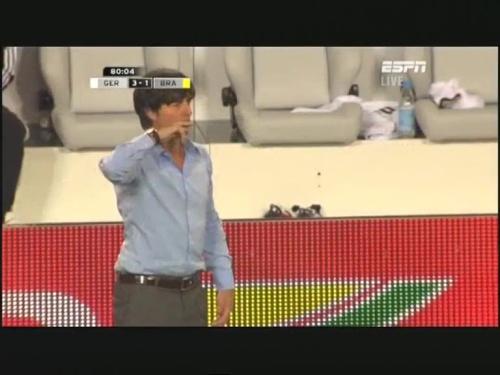 Joachim Löw – Germany v Brazil 31