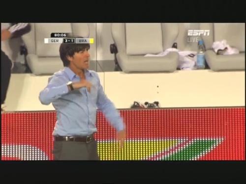 Joachim Löw – Germany v Brazil 32