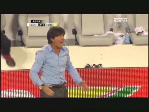 Joachim Löw – Germany v Brazil 33