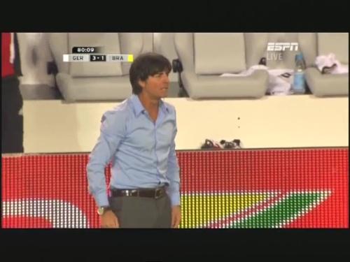 Joachim Löw – Germany v Brazil 34