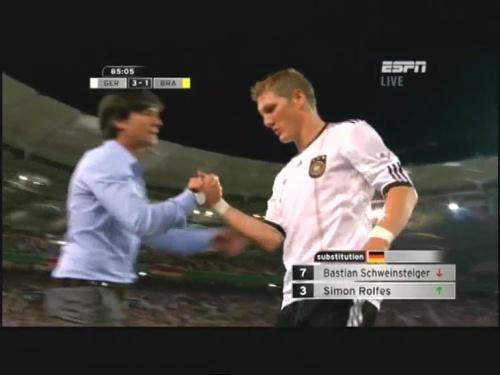 Joachim Löw – Germany v Brazil 35