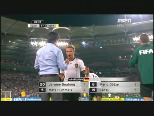 Joachim Löw – Germany v Brazil 36