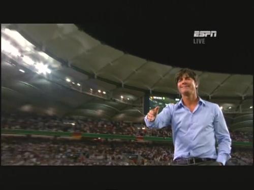 Joachim Löw – Germany v Brazil 45