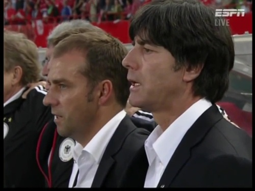 Joachim Löw & Hansi Flick – Austria v Germany  1