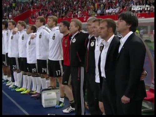Joachim Löw & Hansi Flick – Austria v Germany 2