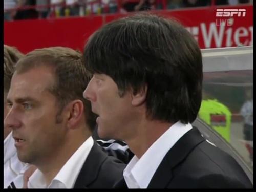 Joachim Löw & Hansi Flick – Austria v Germany  3
