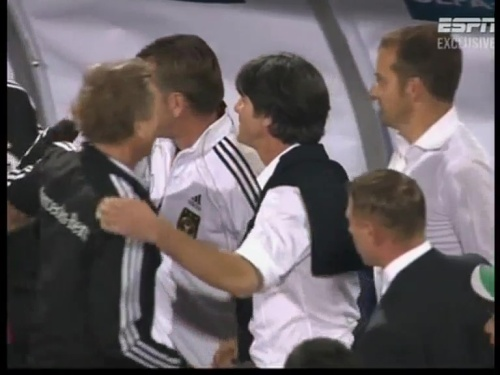 Joachim Löw & Hansi Flick – Azerbaijan v Germany (2011) 10