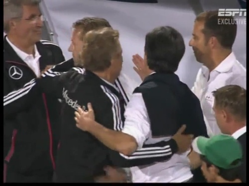 Joachim Löw & Hansi Flick – Azerbaijan v Germany (2011) 11