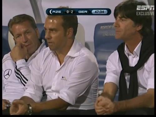 Joachim Löw & Hansi Flick – Azerbaijan v Germany (2011) 3