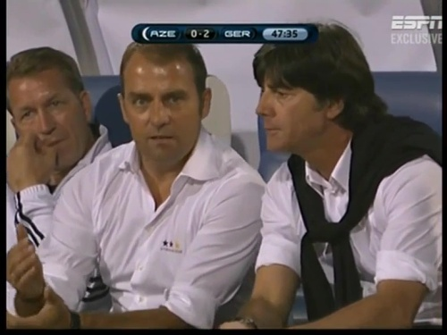 Joachim Löw & Hansi Flick – Azerbaijan v Germany (2011) 4
