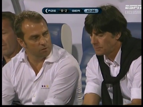 Joachim Löw & Hansi Flick – Azerbaijan v Germany (2011) 5