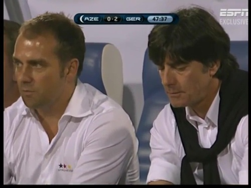 Joachim Löw & Hansi Flick – Azerbaijan v Germany (2011) 6