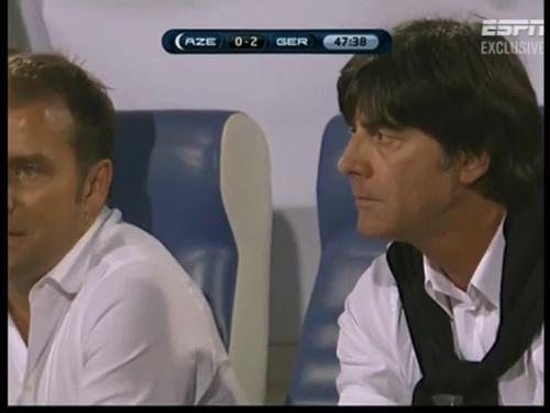 Joachim Löw & Hansi Flick – Azerbaijan v Germany (2011) 7
