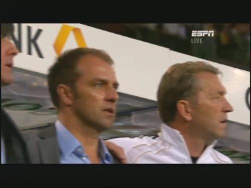 Joachim Löw & Hansi Flick – Germany v Brazil 1