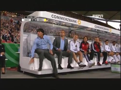 Joachim Löw & Hansi Flick – Germany v Brazil 10