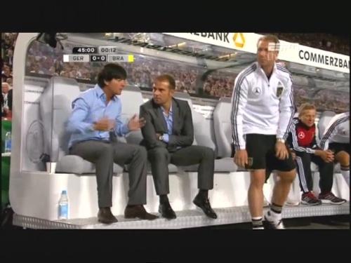 Joachim Löw & Hansi Flick – Germany v Brazil 13