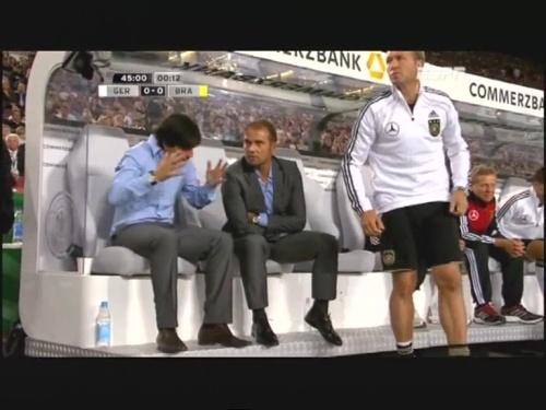 Joachim Löw & Hansi Flick – Germany v Brazil 14