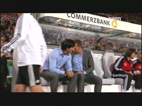 Joachim Löw & Hansi Flick – Germany v Brazil 16