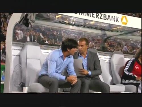 Joachim Löw & Hansi Flick – Germany v Brazil 17