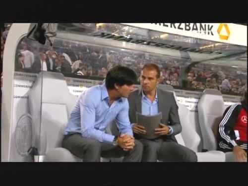 Joachim Löw & Hansi Flick – Germany v Brazil 18