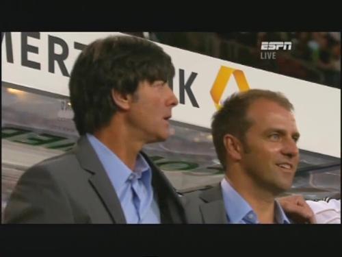 Joachim Löw & Hansi Flick – Germany v Brazil 2