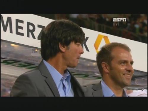Joachim Löw & Hansi Flick – Germany v Brazil 3