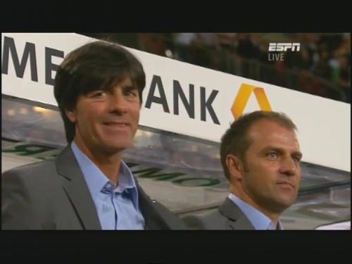 Joachim Löw & Hansi Flick – Germany v Brazil 5