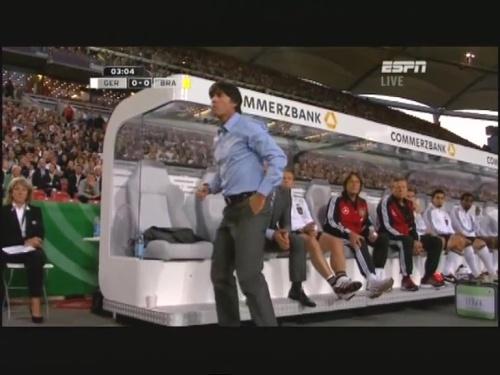 Joachim Löw & Hansi Flick – Germany v Brazil 7