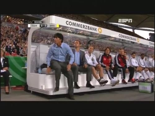 Joachim Löw & Hansi Flick – Germany v Brazil 9